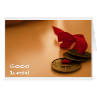 Good Luck card! Card