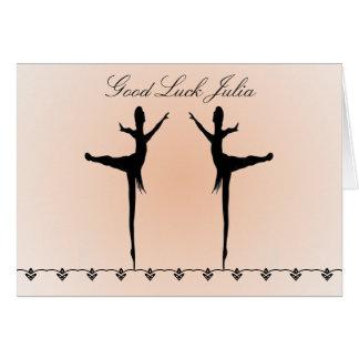 Good Luck Dancer Card