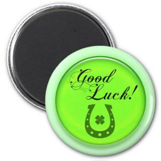 Good Luck Horse Shoe Fridge Magnets