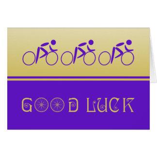 Good luck sport cycling card