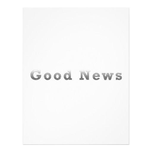 Good News Flyer Design