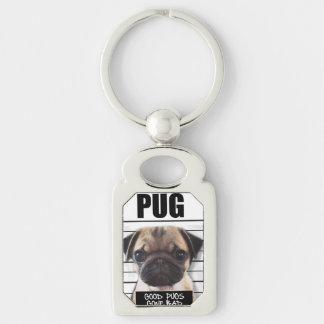 good pugs gone bad key ring