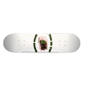 Good Stuff Chocolate Habanero Hot Pepper Design 19.7 Cm Skateboard Deck