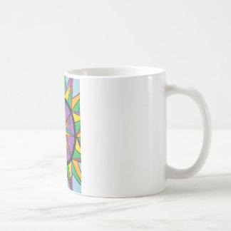 Good Vibe Mariner's Compass Mandala Coffee Mug