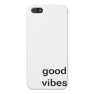Good Vibes Phone Case iPhone 5/5S Covers