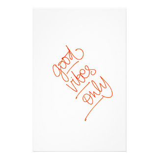 Good Vibrations - Good Vibes Stationery