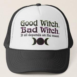 """""""Good Witch, Bad Witch..."""" Caps"""
