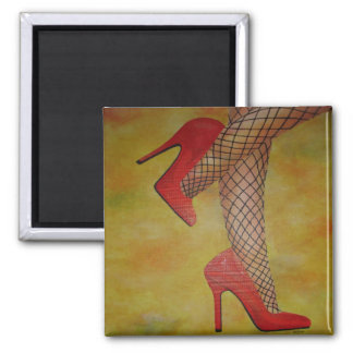 Goody Two Shoes Refrigerator Magnet
