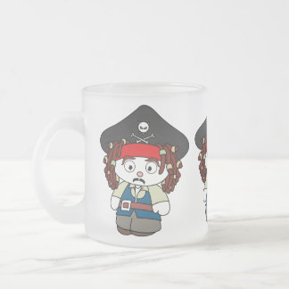 Goofy Cartoon Pirate Coffee Mug