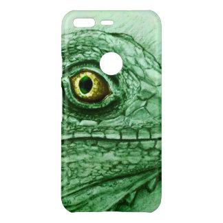 Google Pixel X/XL vintage case - Iguana