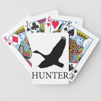 Goose Hunter Bicycle Playing Cards