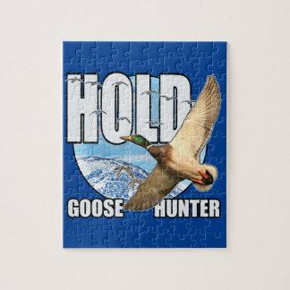 Goose hunter jigsaw puzzle