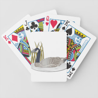 Goose-No Text Bicycle Playing Cards