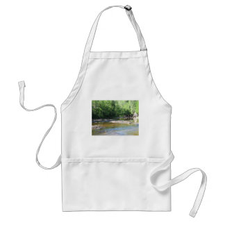 Gooseberry Falls - Stream running between trees Aprons