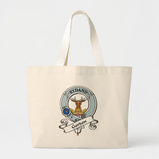 Gordon Clan Badge Large Tote Bag