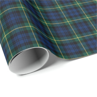 Gordon Clan Tartan Wrapping Paper
