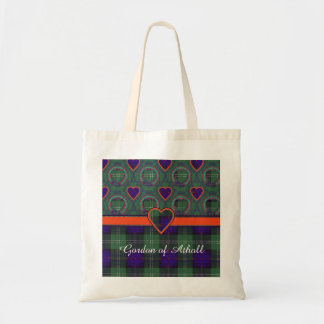 Gordon of Atholl clan Plaid Scottish kilt tartan Tote Bag