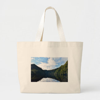GORDON RIVER TASMANIA AUSTRALIA LARGE TOTE BAG