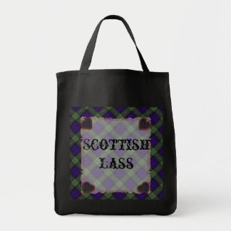 Gordon Scottish clan tartan - Plaid Tote Bag