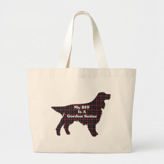 Gordon Setter Large Tote Bag