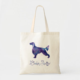 Gordon Setter Watercolor Tote Bag