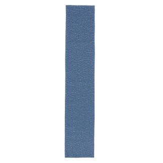 Gorgeous Navy Blue Leather Texture Medium Table Runner