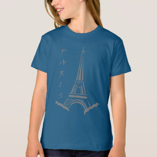Gorgeous Trendy Paris and Eiffel Tower T-Shirt