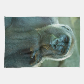 Gorilla - Fed up! Tea Towel