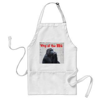 Gorilla, King of the BBQ Standard Apron