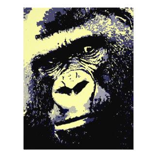 Gorilla Portrait 21.5 Cm X 28 Cm Flyer
