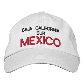 GORRA VARONIL BAJA CALIFORNIA SUR MEXICO EMBROIDERED CAP