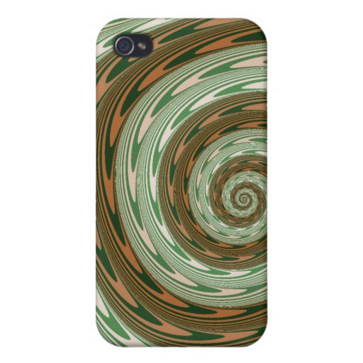 Goshy Twist - Fractal iPhone 4 Covers