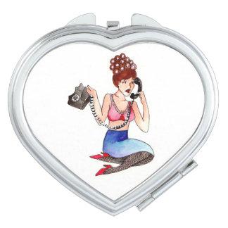 Gossip Compact Mirror
