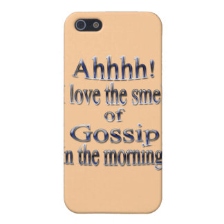 Gossip in the Morning blu iPhone 5 Cover
