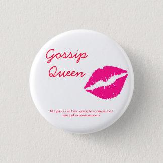 Gossip Queen Button