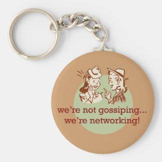 Gossiping Women Key Ring