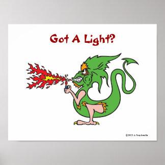 Got A Light? Print