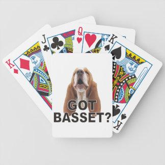 Got Basset? Playing Cards