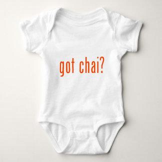 got chai? baby bodysuit