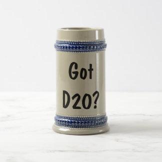 Got d20? beer stein