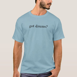 got drums shirt