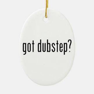 got dubstep? christmas ornament