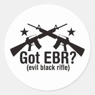Got EBR? AR15 Classic Round Sticker