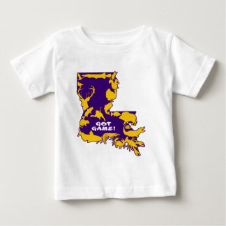 GOT GAME PURPLE AND GOLD.png Baby T-Shirt