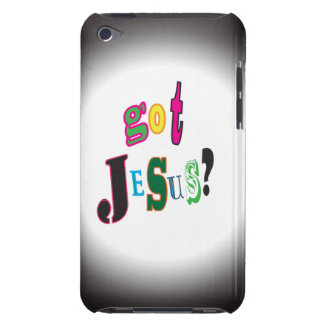 Got Jesus Black Oval Abstract iPod Touch Cover