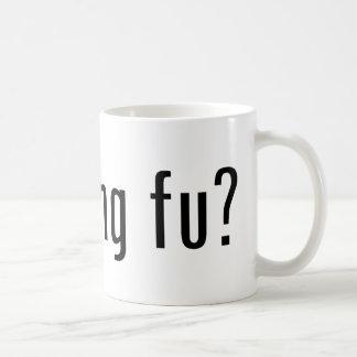 got kung fu? coffee mug