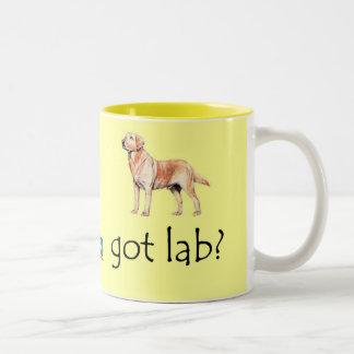 Got Lab? Two-Tone Mug