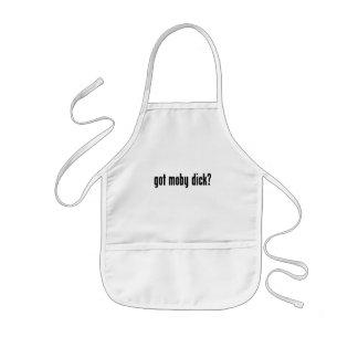 got moby dick? kids apron