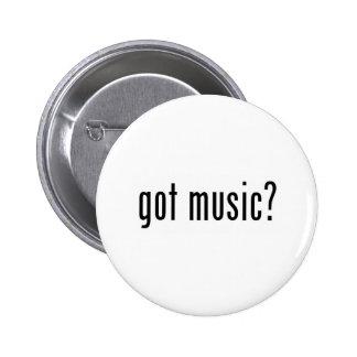 got music? 6 cm round badge