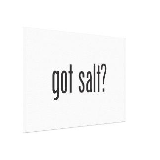 got salt gallery wrapped canvas